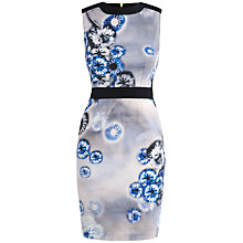 Buy Almari Eye Print Contrast Dress, Blue Online at johnlewis.com