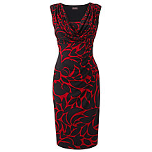 Buy Phase Eight Marcie Dress, Black/Ruby Online at johnlewis.com