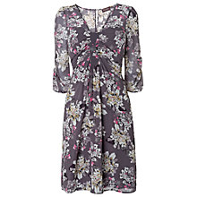 Buy Phase Eight Domenica Floral Dress, Mole Online at johnlewis.com