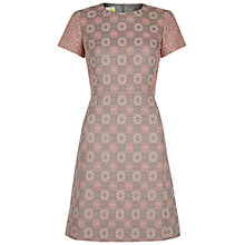 Buy NW3 by Hobbs Needlework Dress, Mouse Grey Online at johnlewis.com