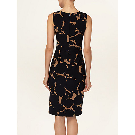 Buy Phase Eight Shadow Rose Dress, Black / Camel Online at johnlewis.com