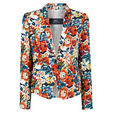 Buy Mango Floral Print Blazer, Multi Online at johnlewis.com