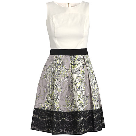 Buy Almari Paisley Lace Dress, Lilac Online at johnlewis.com