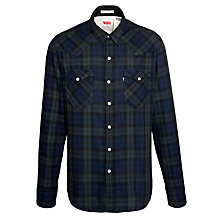 Buy Levi's Barstow Check Long Sleeve Shirt Online at johnlewis.com