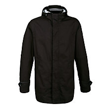 Buy Armani Jeans Hooded Rain Jacket, Dark Navy Online at johnlewis.com