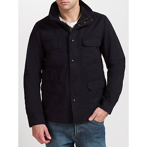 Buy Diesel Jamede Cotton Jacket, Black Online at johnlewis.com
