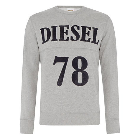 Buy Diesel Only the Brave Cotton Sweatshirt Online at johnlewis.com