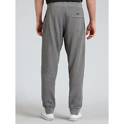 Buy Armani Jeans Cotton Track Bottoms, Grey Online at johnlewis.com