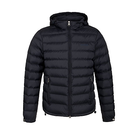 Buy Armani Jeans Down Filled Puffer Jacket, Navy Online at johnlewis.com