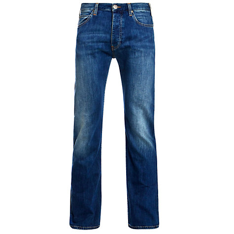 Buy Armani Jeans Basic Twill Jeans, Blue Online at johnlewis.com