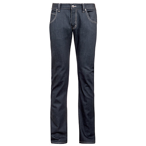 Buy Armani Jeans Slim Fit Straight Leg Jeans, Grey Online at johnlewis.com