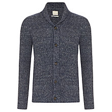 Buy Selected Homme Shawl Collar Wool Cardigan, Navy Online at johnlewis.com