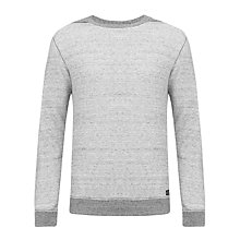 Buy Diesel Sabatien Sweatshirt, Grey Online at johnlewis.com