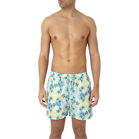 Buy Oiler & Boiler Hawaiian Floral Print Swim Shorts Online at johnlewis.com