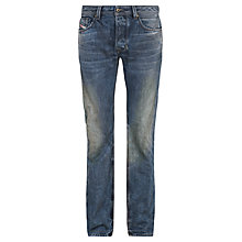 Buy Diesel Larkee Relaxed Straight Leg Jeans, Dark Blue Online at johnlewis.com