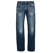 Buy Levi's 501 Original Straight Jeans, Blue Online at johnlewis.com