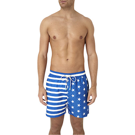 Buy Oiler & Boiler Tuckernuck Stars & Stripes Swim Shorts Online at johnlewis.com