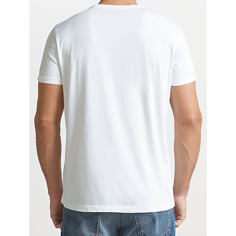 Buy Diesel Any Other Graphic Print T-Shirt, White/Multi Online at johnlewis.com