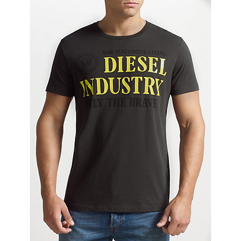 Buy Diesel Only The Brave T-Shirt Online at johnlewis.com