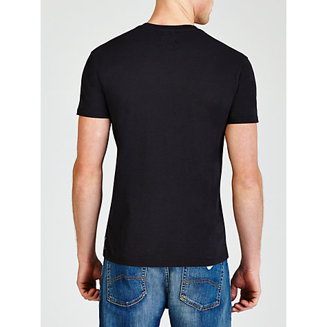 Buy Armani Jeans Round Logo T-Shirt Online at johnlewis.com