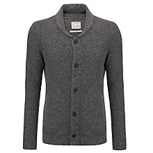 Buy Selected Homme Danten Shawl Neck Cardigan, Grey Online at johnlewis.com