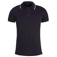 Buy Armani Jeans Tipped Polo Shirt, Navy Online at johnlewis.com