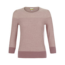 Buy NW3 by Hobbs Jocelyn Jumper, Macaroon Online at johnlewis.com