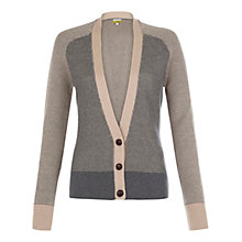 Buy NW3 by Hobbs Honeycomb Cardigan, Mouse Grey Multi Online at johnlewis.com