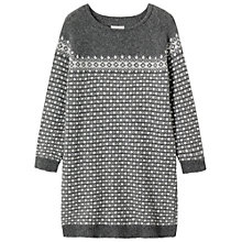 Buy Toast Fairisle Dress, Charcoal/Taupe Online at johnlewis.com