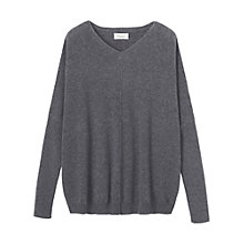 Buy Toast Draped Cashmere Pullover, Smog Online at johnlewis.com