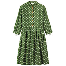 Buy Toast Polka Dot Dress, Emerald Green Online at johnlewis.com