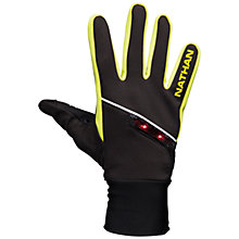 Buy Nathan Speedshift Gloves, Black/Green Online at johnlewis.com