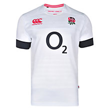 Buy Canterbury of New Zealand England Rugby Replica Home Pro Shirt, White Online at johnlewis.com