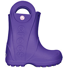 Buy Crocs Kids' Handle It Rain Boots Online at johnlewis.com