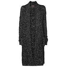 Buy Phase Eight Felicity Fleck Long Cardigan, Black Online at johnlewis.com