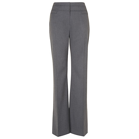 Buy Phase Eight Ginette Temple Trousers, Charcoal Online at johnlewis.com