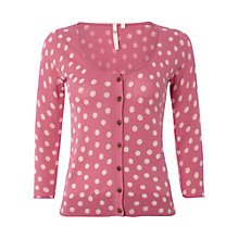 Buy White Stuff Sweet Dreams Cardigan, Raspberry Sorbet Online at johnlewis.com