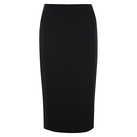 Buy Hobbs Lola Skirt, Black Online at johnlewis.com