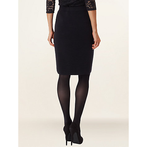 Buy Phase Eight Cara Skirt, Blue/Black Online at johnlewis.com