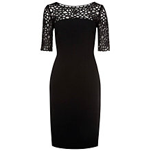Buy Hobbs Ross Dress, Black Online at johnlewis.com