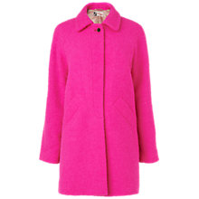 Buy Boutique by Jaeger Boucle Coat, Bright Pink Online at johnlewis.com