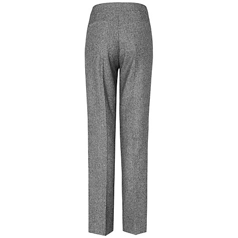 Buy Jaeger Parallel Tweed Trousers, Grey Online at johnlewis.com