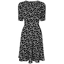 Buy Boutique by Jaeger Bird Print Dress, Black Online at johnlewis.com