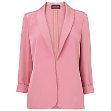 Buy Jaeger Silk Jacket, Light Pink Online at johnlewis.com