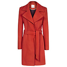 Buy Reiss Lavina Coat, Red Online at johnlewis.com