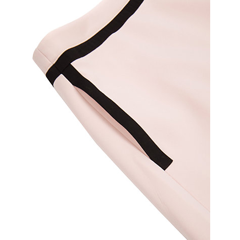 Buy Ted Baker Contrast Mini Skirt, Pale Pink Online at johnlewis.com