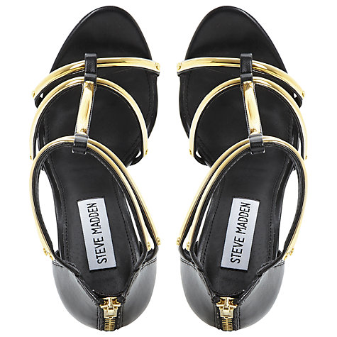 Buy Steve Madden Bridget Metal Strap Platform Sandals Online at johnlewis.com
