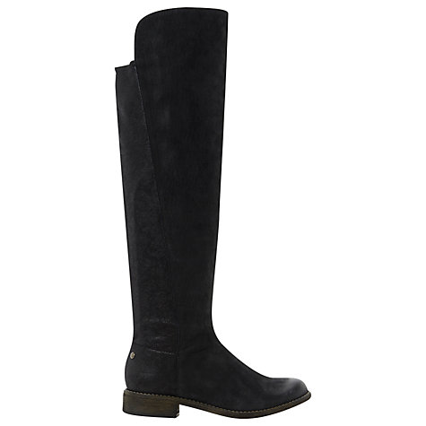 Buy Steve Madden Tally Over the Knee Boot, Black Online at johnlewis.com