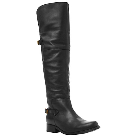Buy Steve Madden Ottowa Leather Over the Knee Boots Online at johnlewis.com