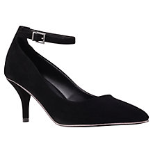 Buy Carvela Atom Ankle Buckle Kitten Heel Court Shoes Online at johnlewis.com